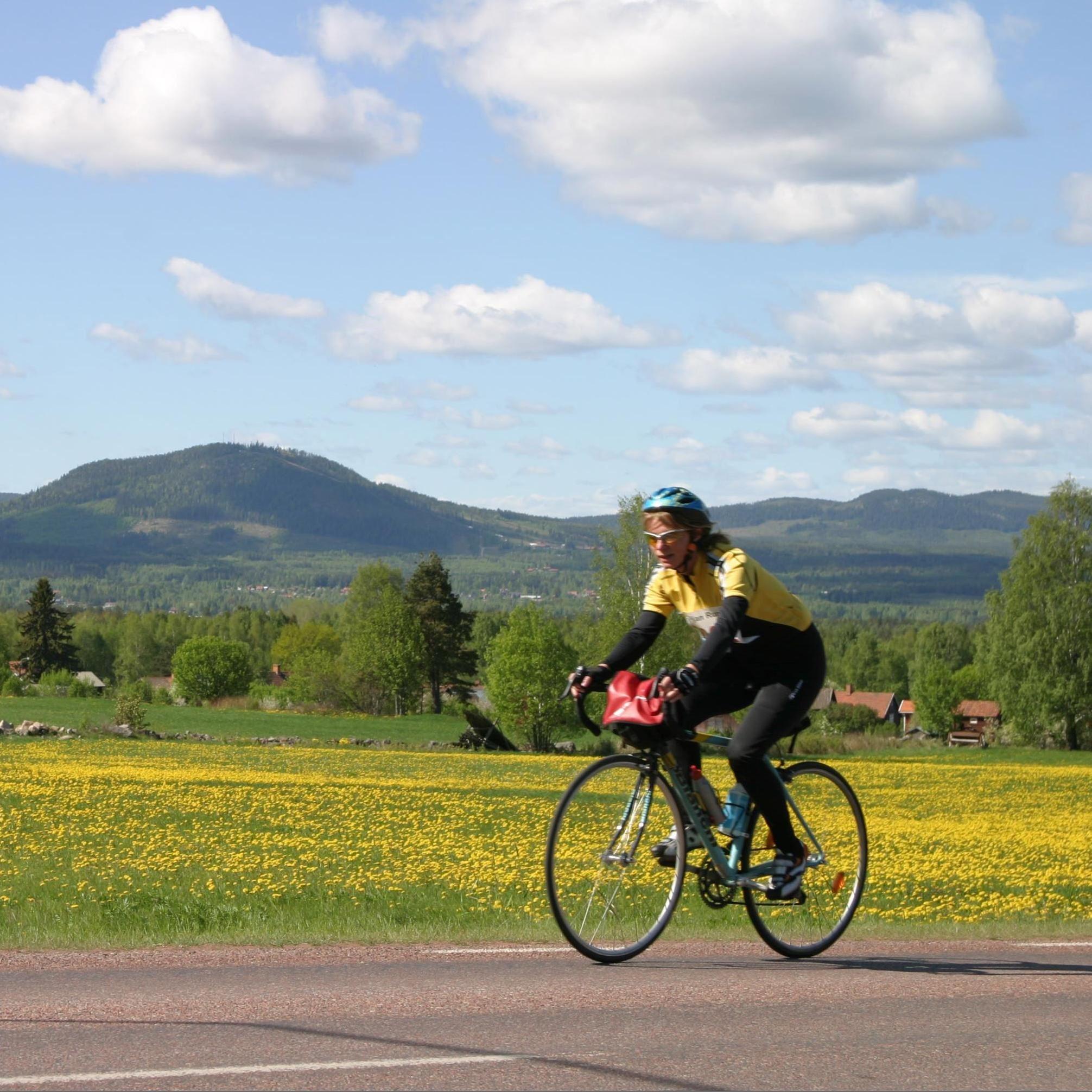 Torbjörn Nääs, Siljansleden - Cykelled