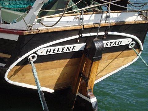 Segeln Sie mit T/S Helene von Ystad Hafen