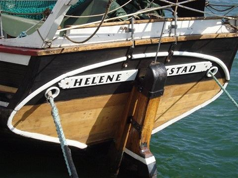 Öppet skepp på T/S Helene