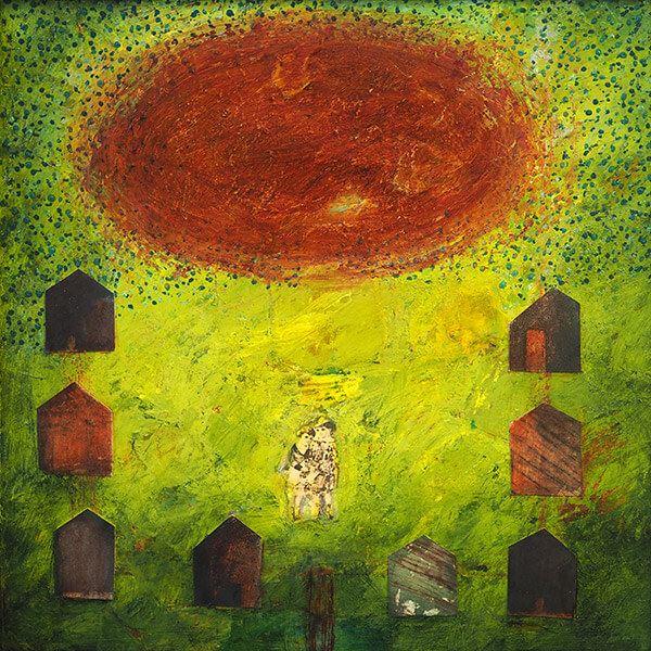 Utställning i Sölvesborgs Konshall - Lena Wyrner, måleri