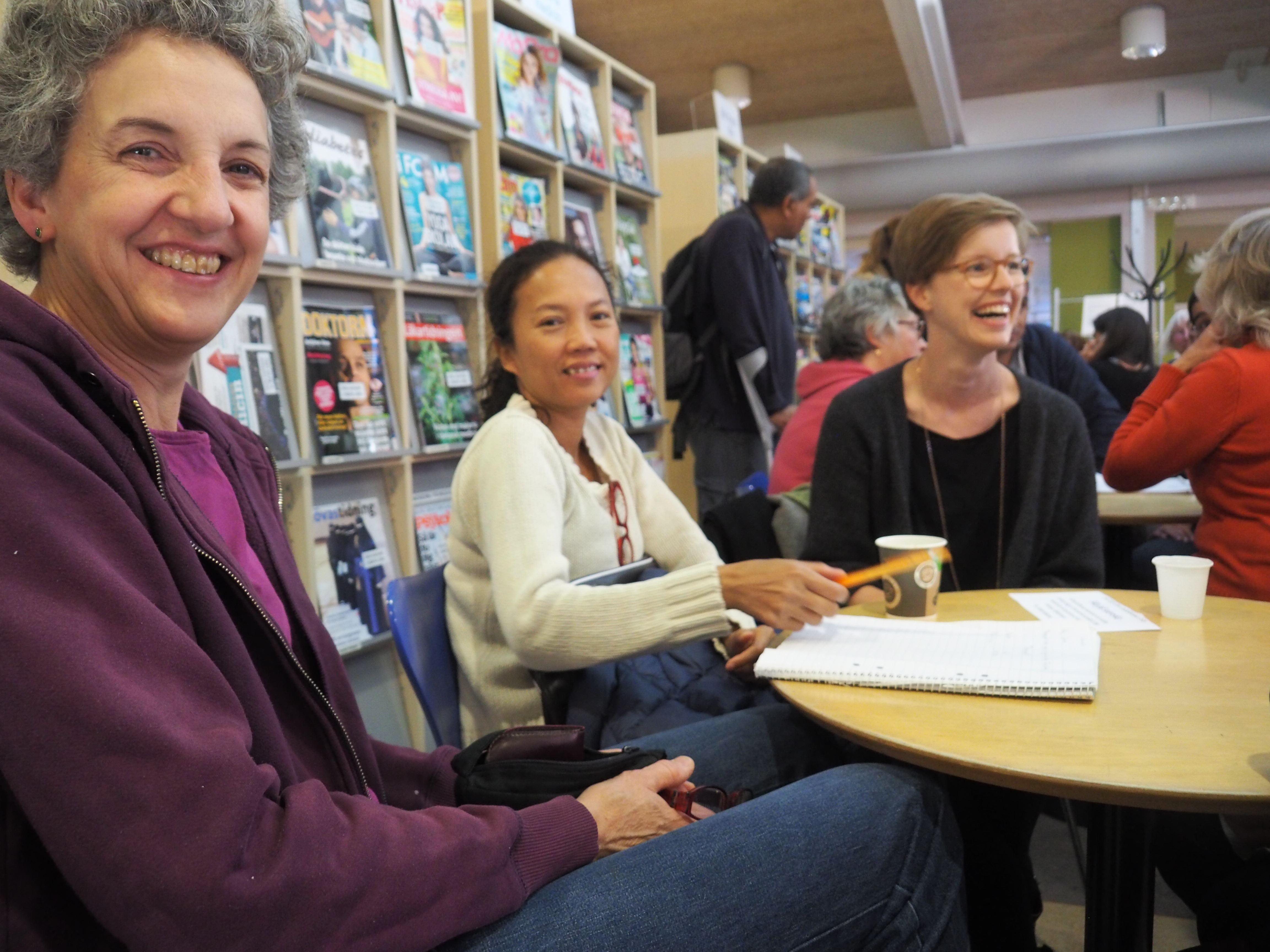Språkkafé - vi läser en bok tillsammans