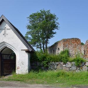 Njurunda church ruins