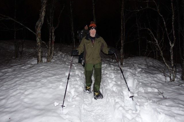 Snowshoeing and winter walk from Narvik