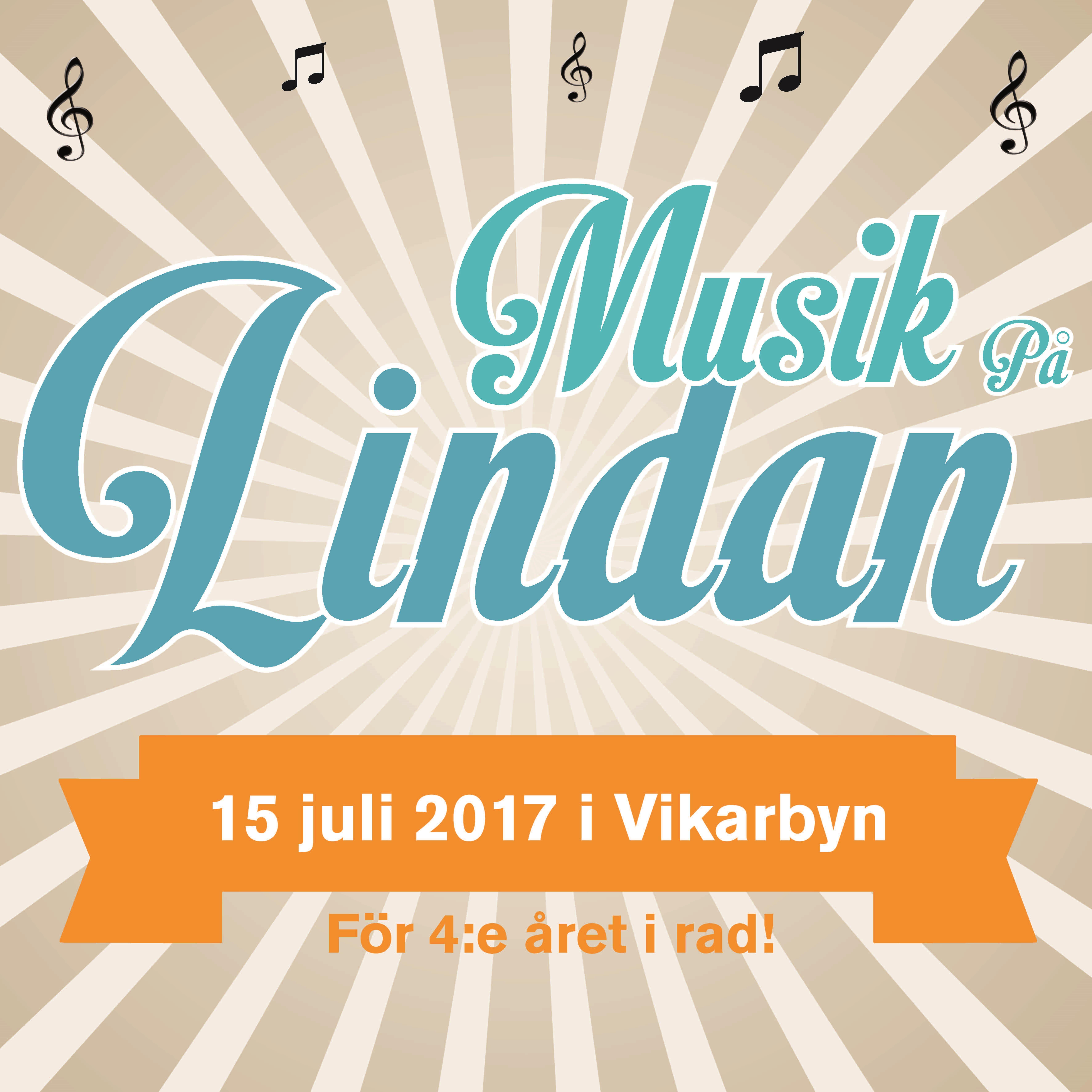 Musik på Lindan i Vikarbyn