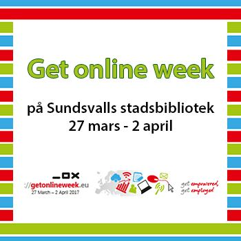 Sundsvalls stadsbibliotek läser - Get Online Week