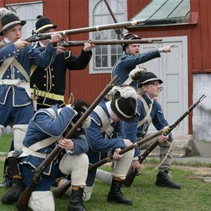 1700-tals Dag på Drottningskärs Kastell