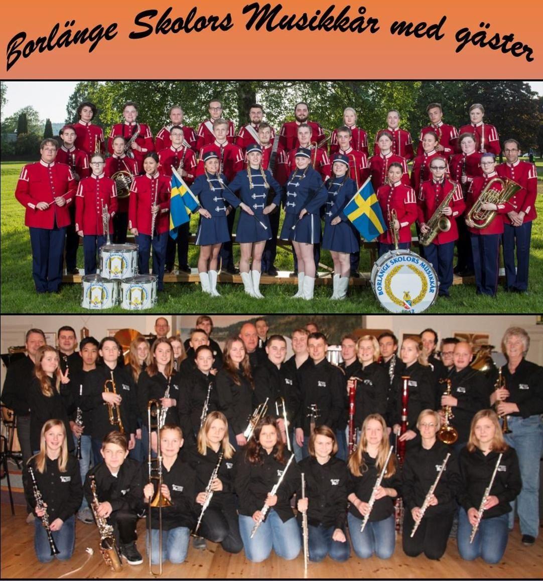 Borlänge Skolors Musikkår med gäster
