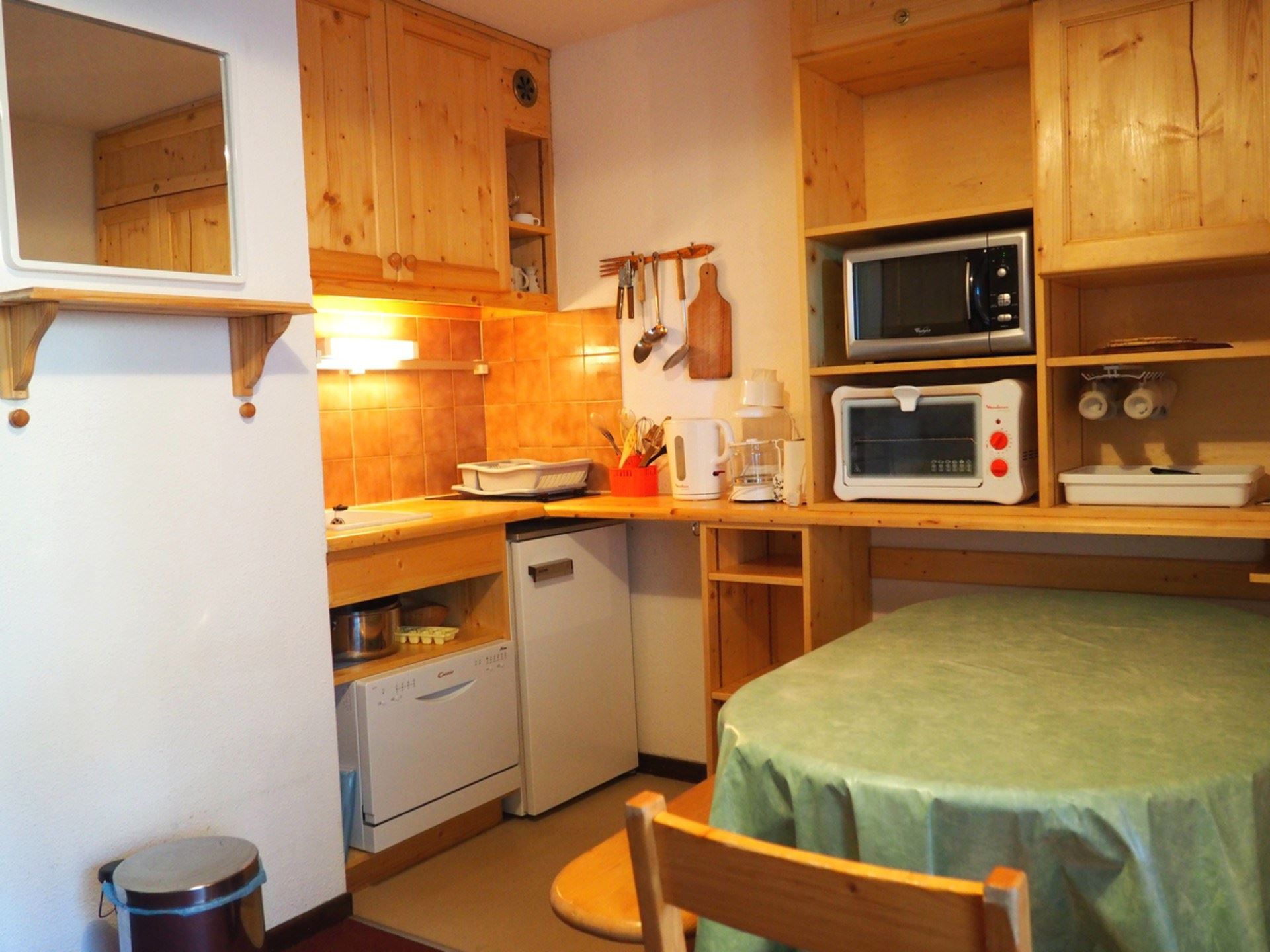 4 Pers Studio + cabin ski-in ski-out / SKI SOLEIL 1204