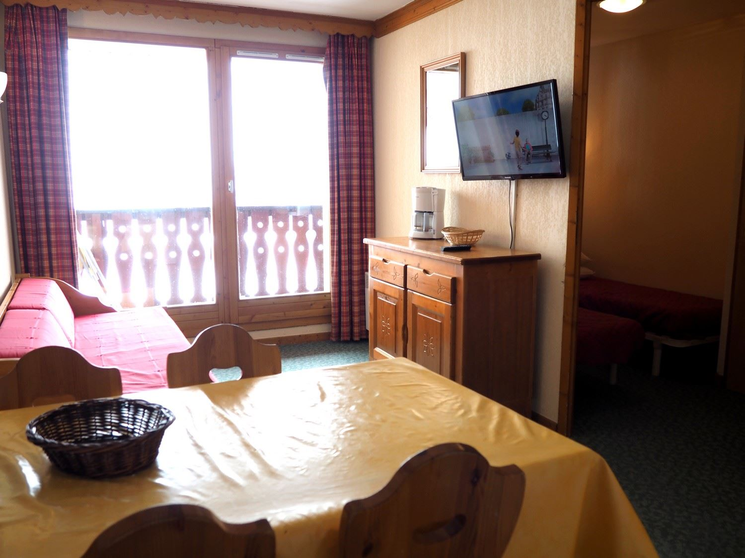 2 Rooms 4 Pers ski-in ski-out / VALMONTS 406
