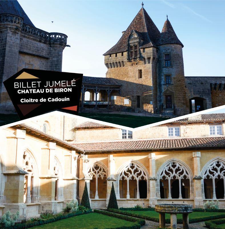 Visite Jumelée : Biron + Cadouin à partir de 10h
