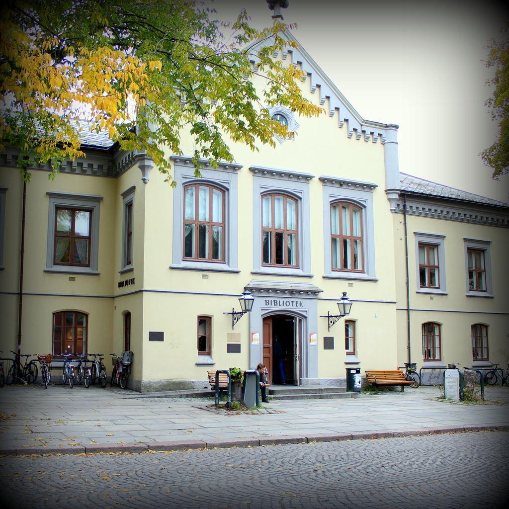 Visit Trondheim, Fasaden av folkebiblioteket i Trondheim