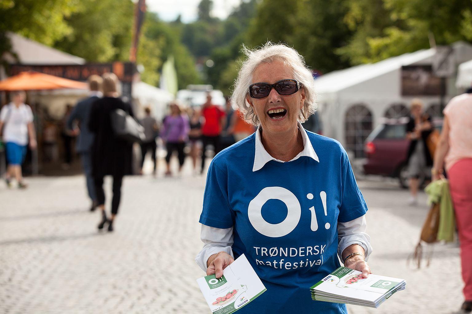 Wil Lee-Wright, OI! Trøndersk food festival