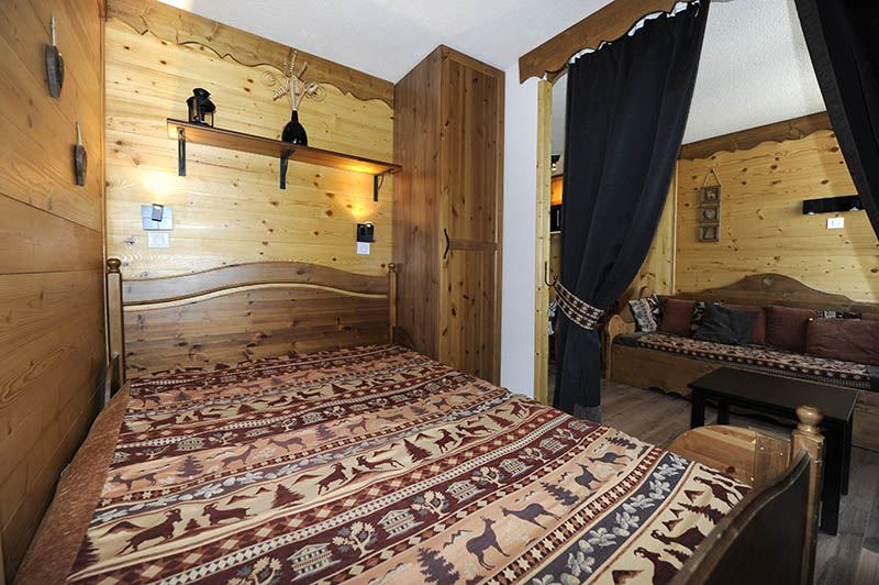 4 Pers Studio + cabin ski-in ski-out / VILLARET 405