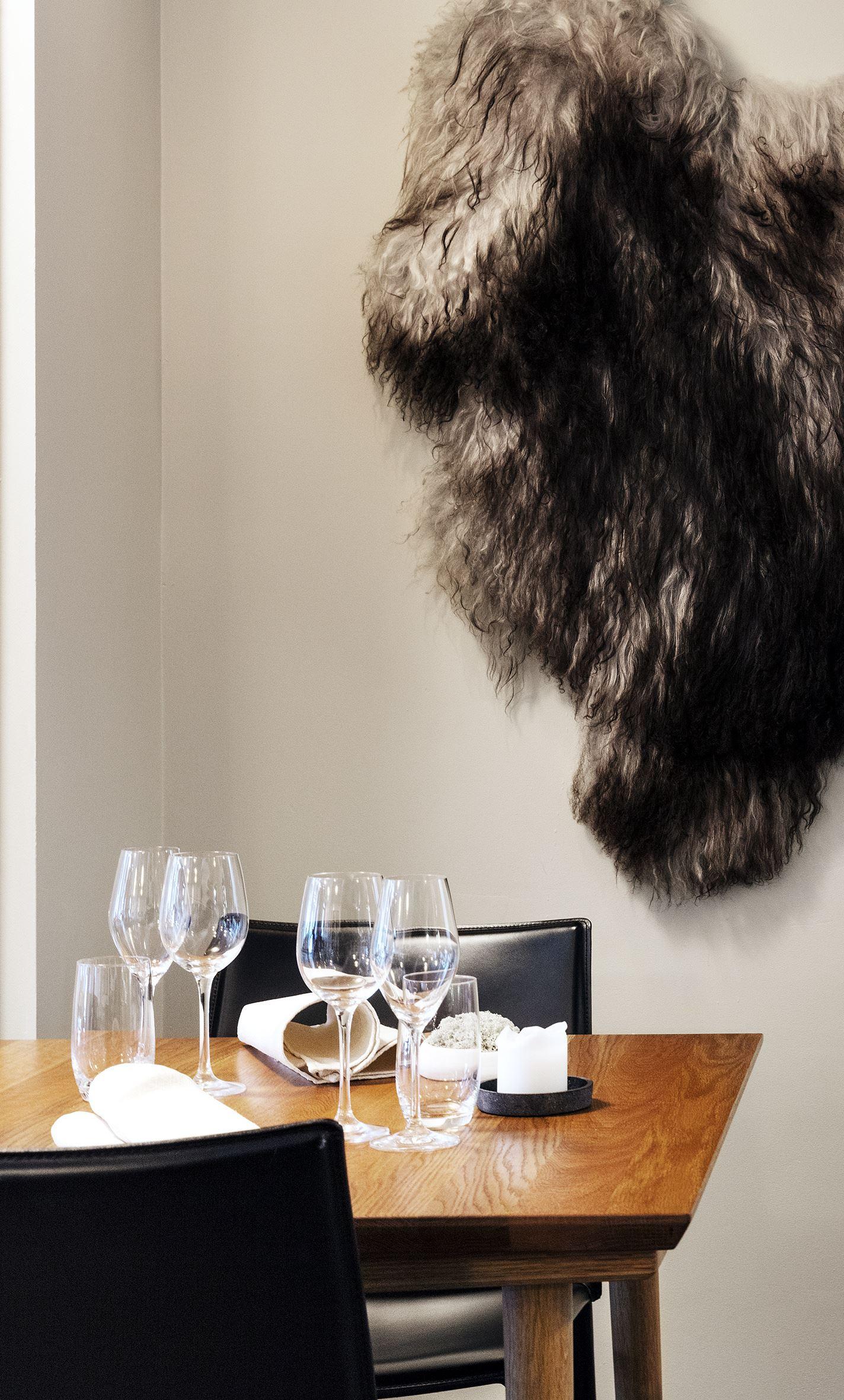 Credo restaurant, Råvare-drevet restaurant med en spennende meny