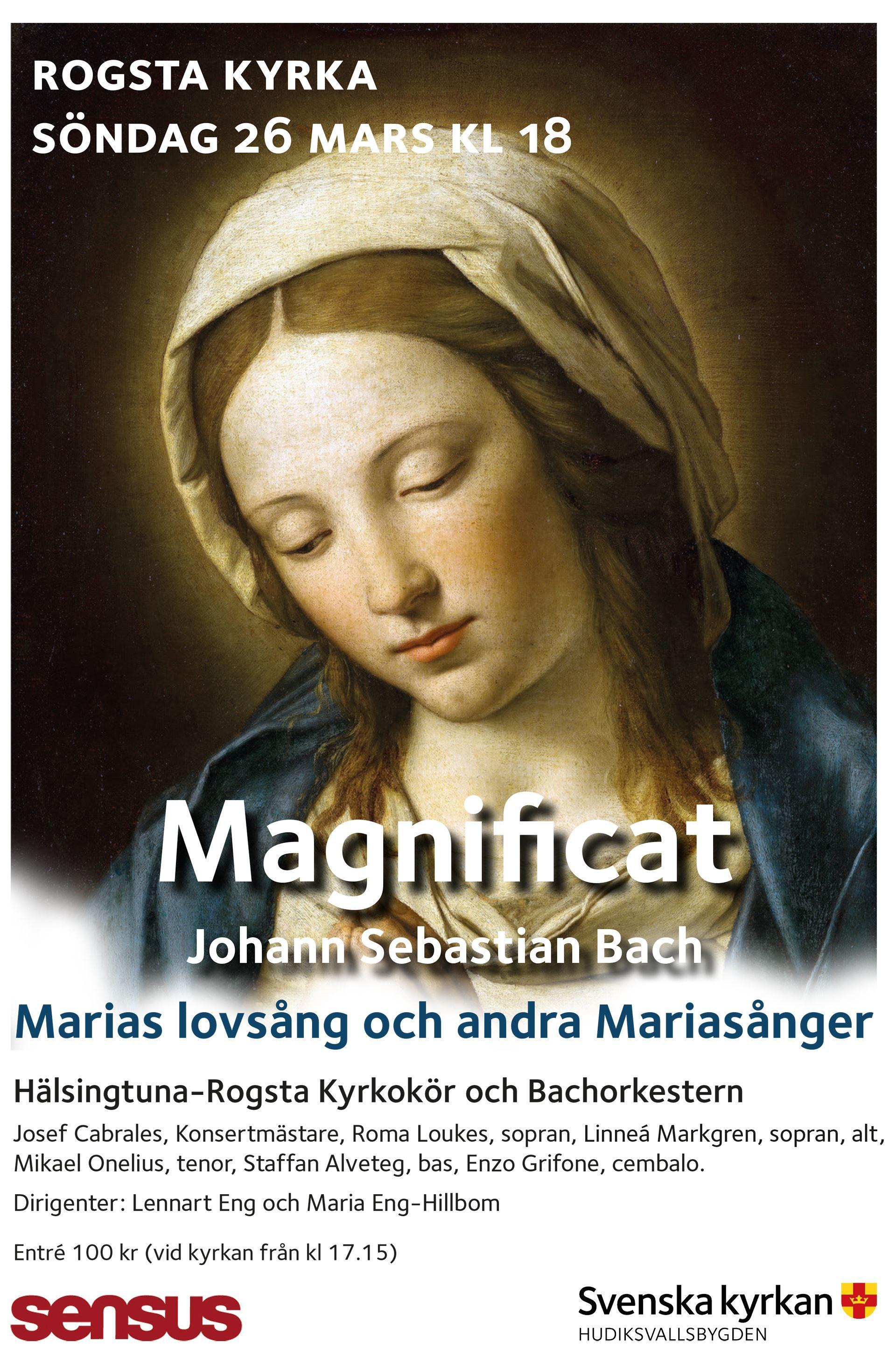 Körkonsert Magnificat