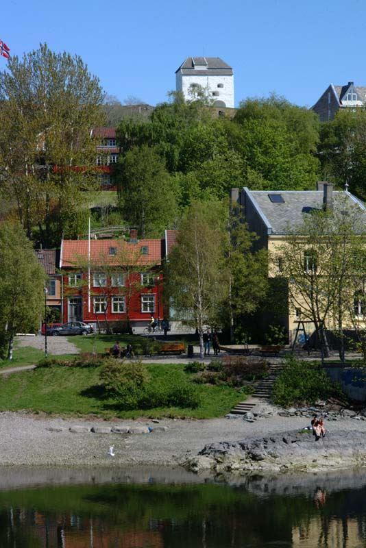 Jørn Adde, Gåsaparken, Nidelva, Bakklandet og Festningen