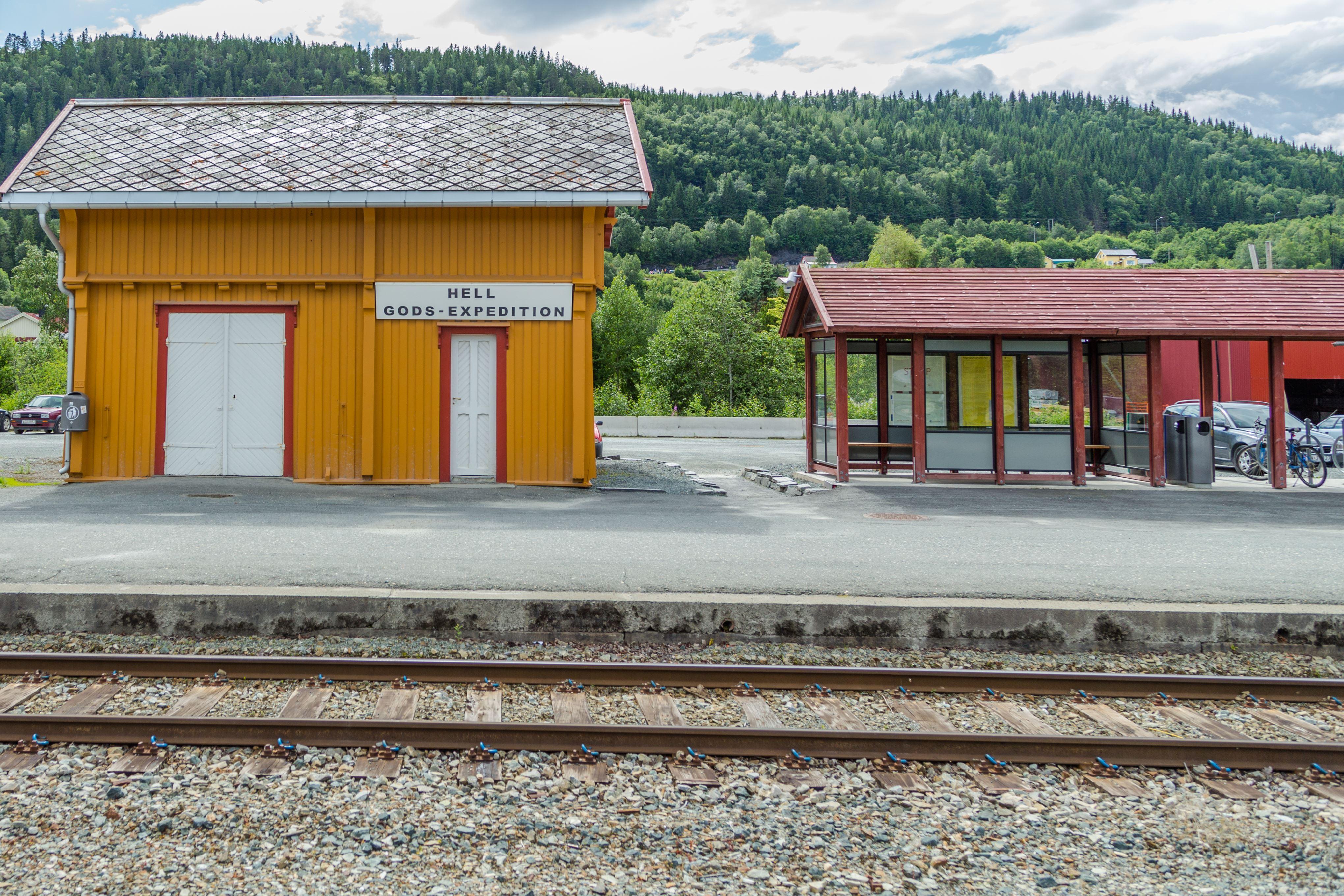 Visit Trondheim, Hell Station