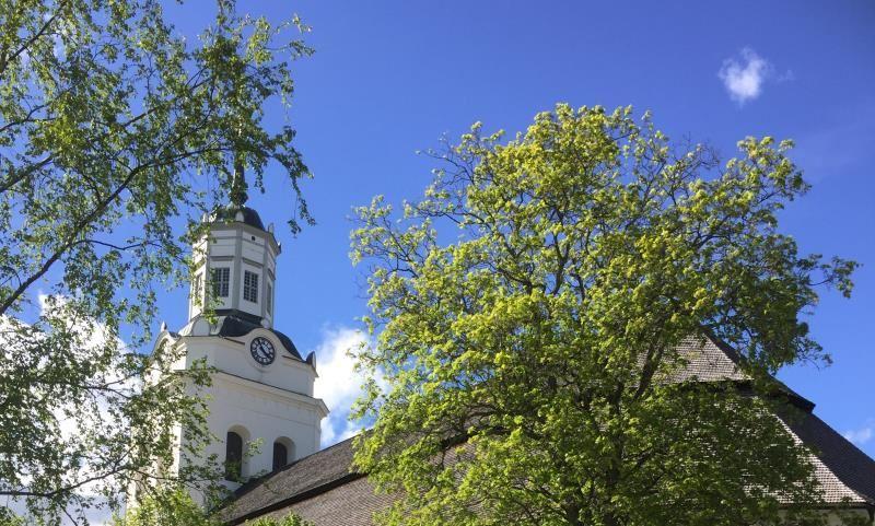 Vävutställning Orsa kyrka