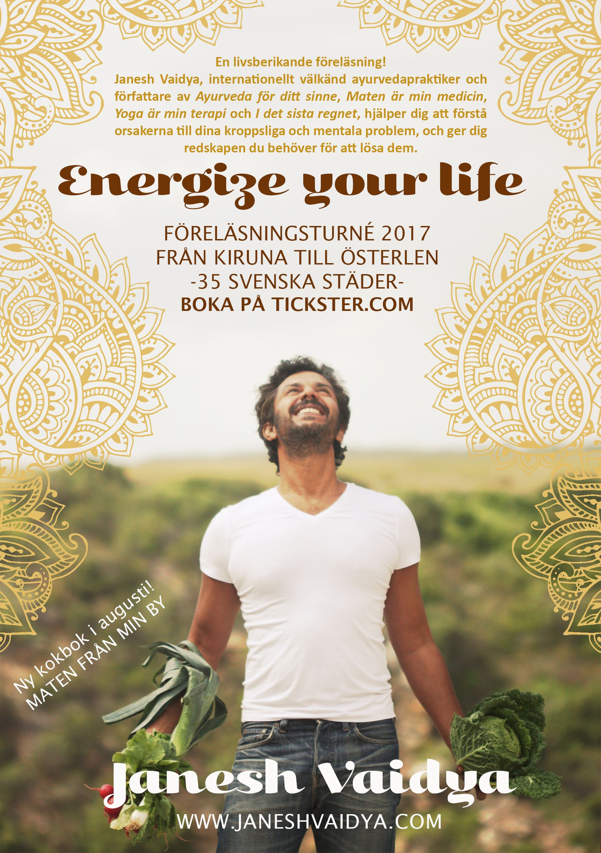 Janesh Vaidya- Energize your life