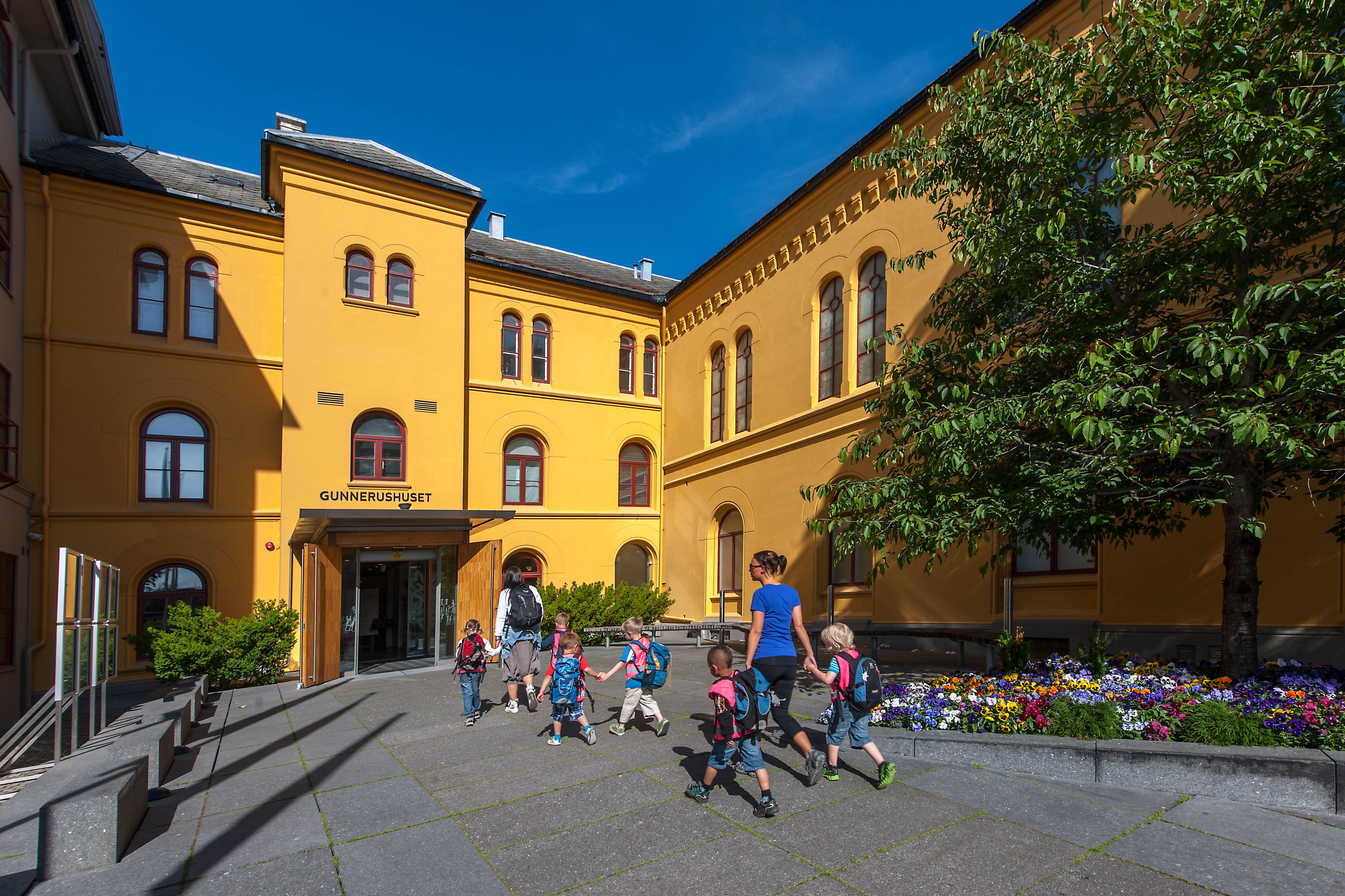 NTNU VItenskapsmuseet/Åge Hojem, Fasaden av NTNU Vitenskapsmuseet i Trondheim