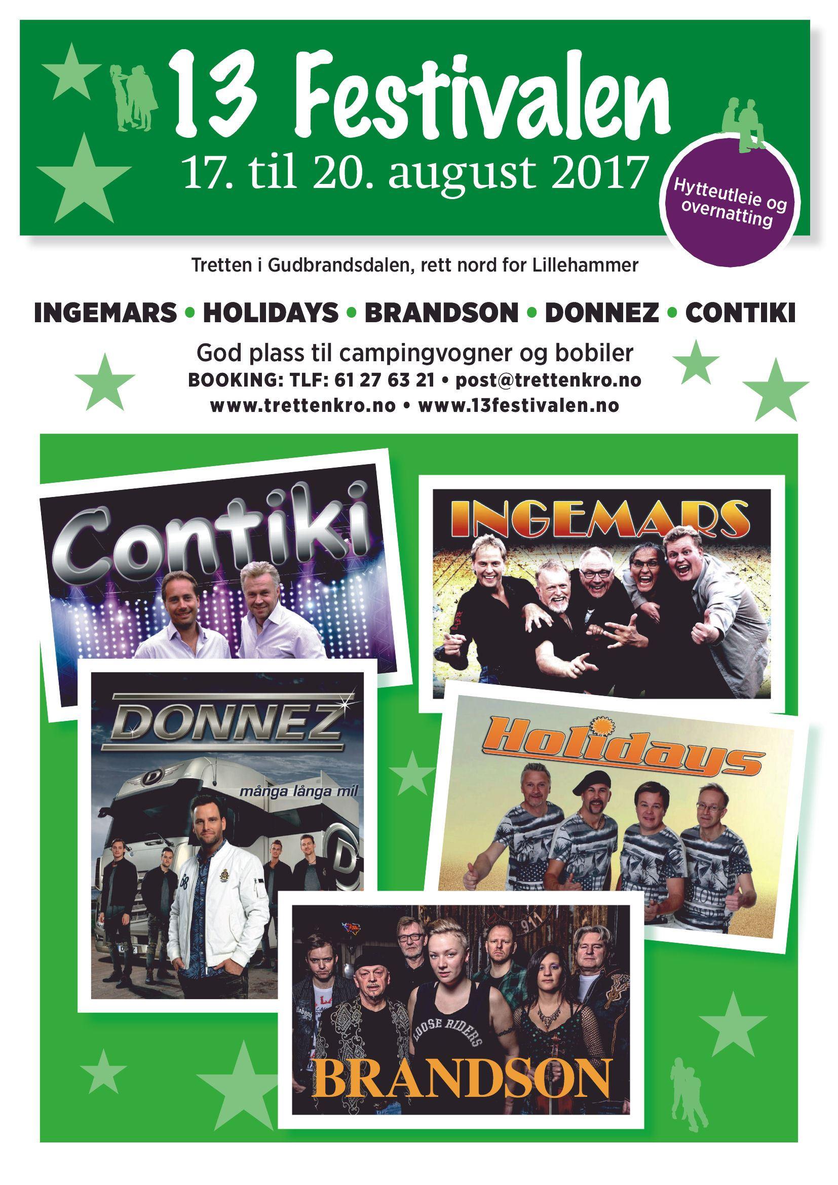 13 festivalen