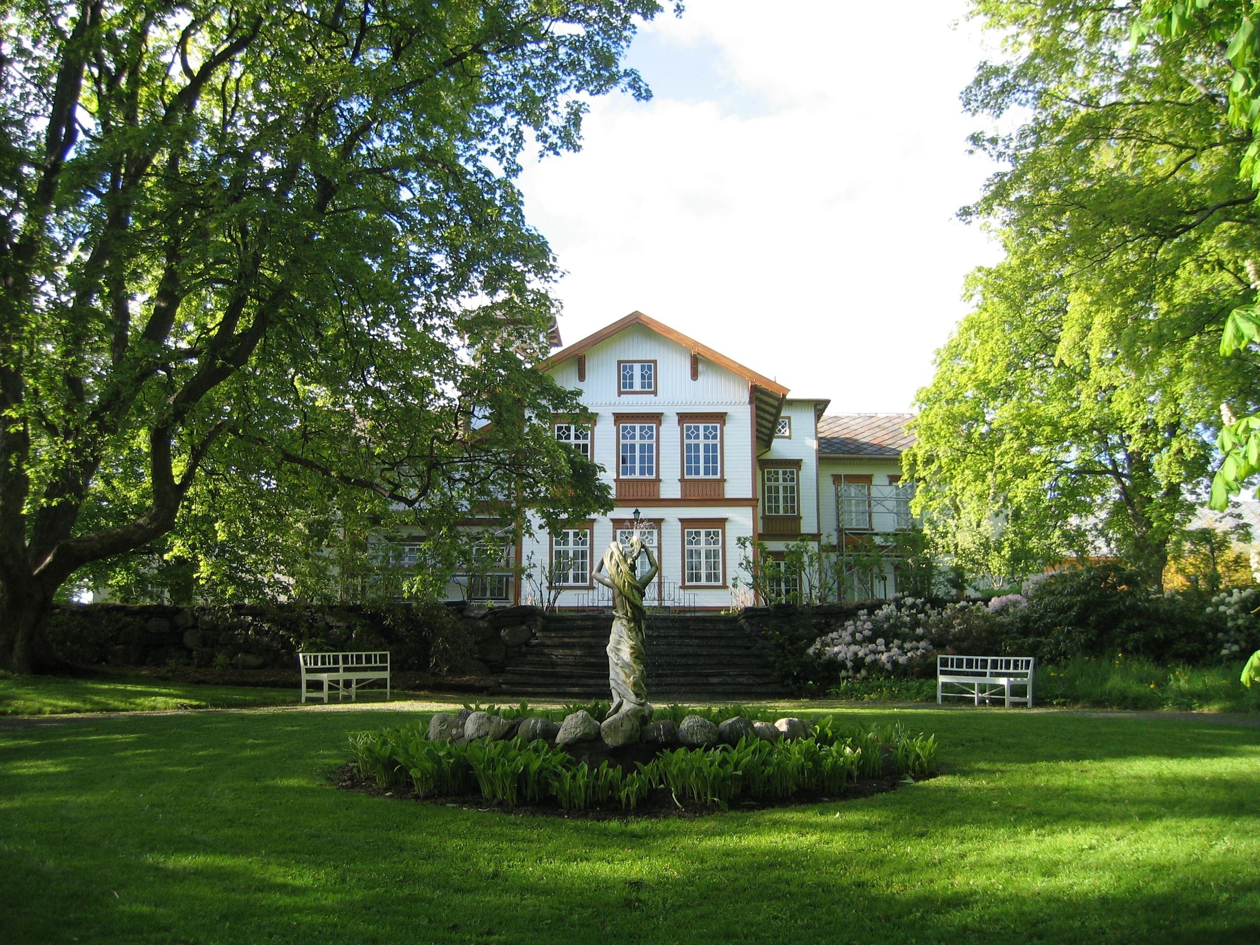 Ringve Musikkmuseum/Torbjørn Selven, Fasaden av Ringve Musikkmuseum i Trondheim