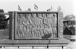 A Graudums, Bengt Bygdén,  © Sundsvalls museum, Saw mill monument