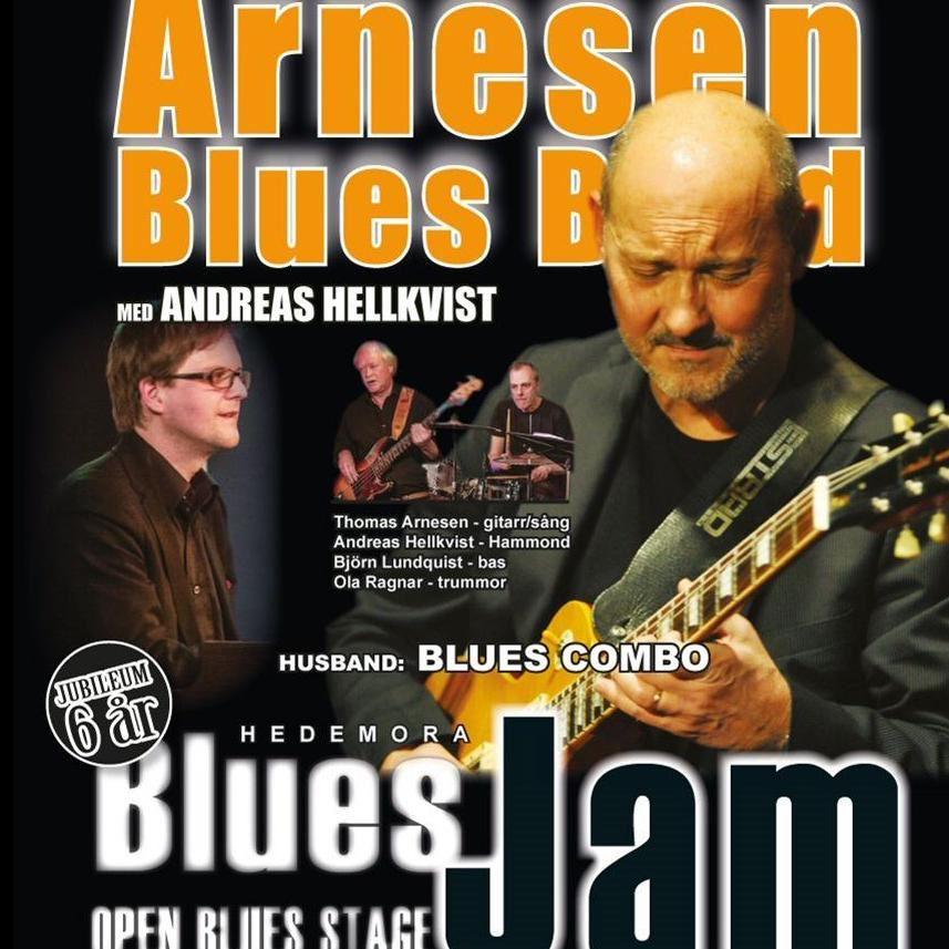 Hedemora Blues Jam - Arnesen bluesband och Andreas Hellkvist