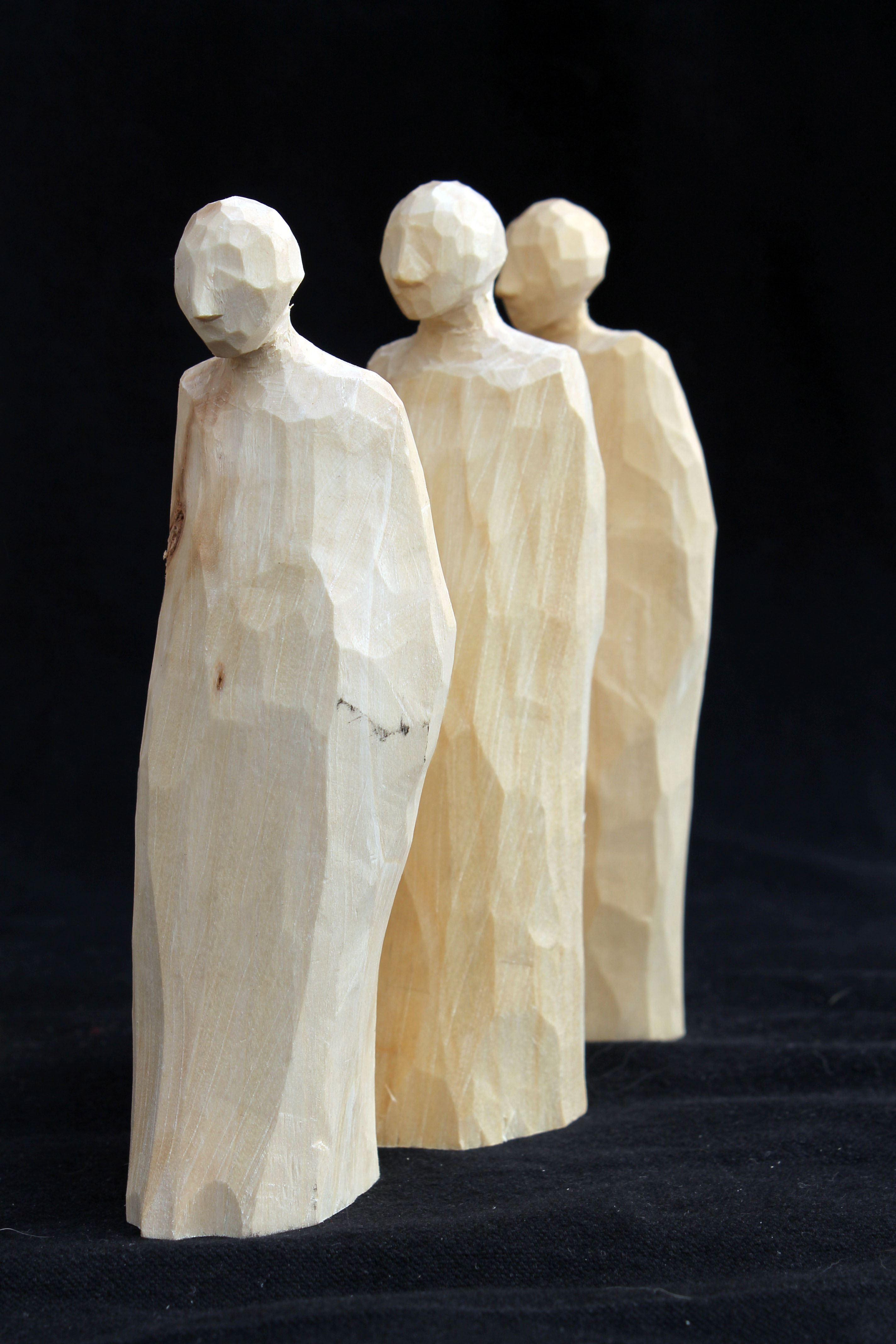 Eva Hedberg - träskulpturer