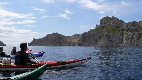 A day in the Calanques National Park by kayak.