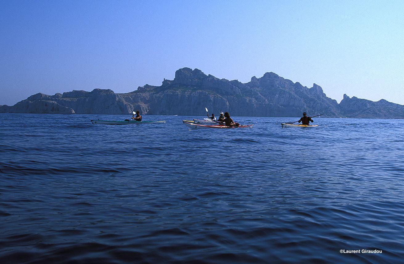 Journée Calanques en kayak de mer.
