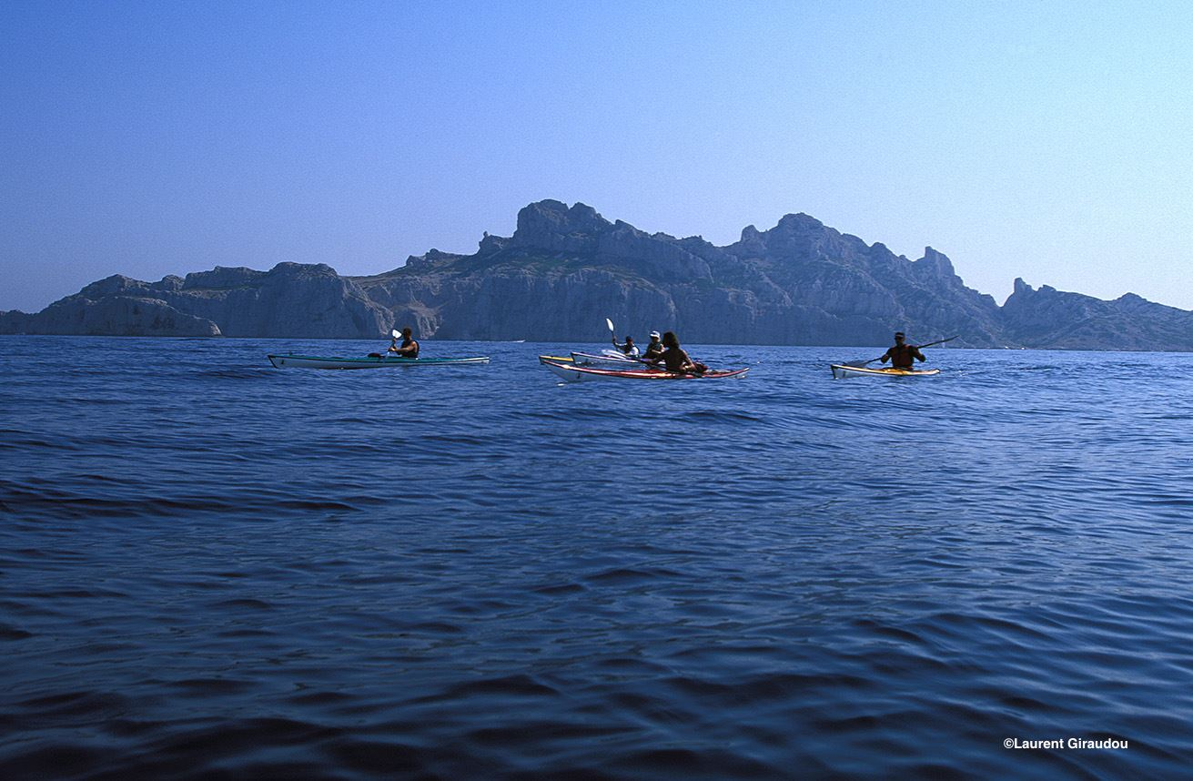 Journée Calanques en kayak de mer.