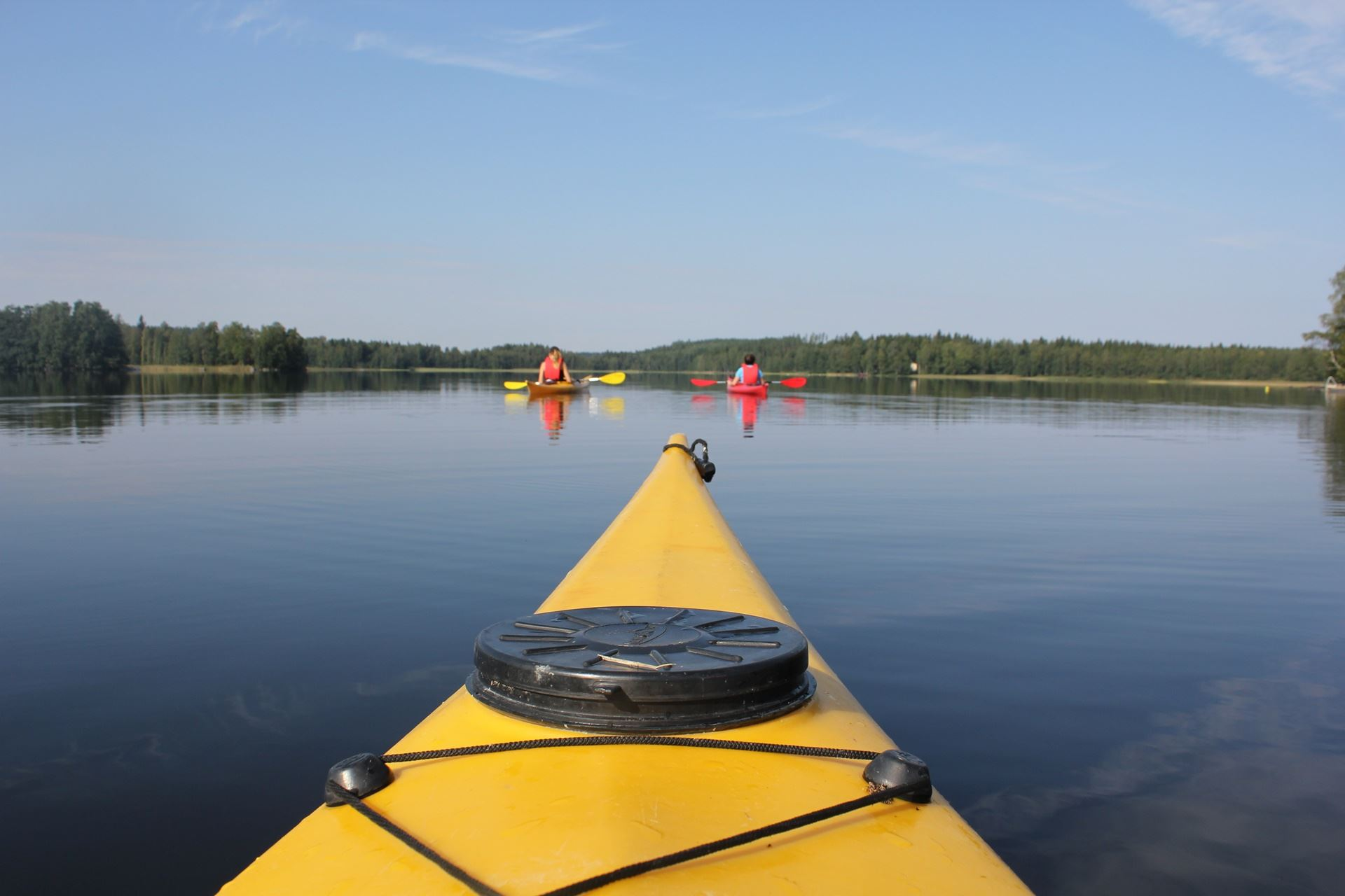 Salajärven salat -melontaretki | Best Lake Nature Adventures
