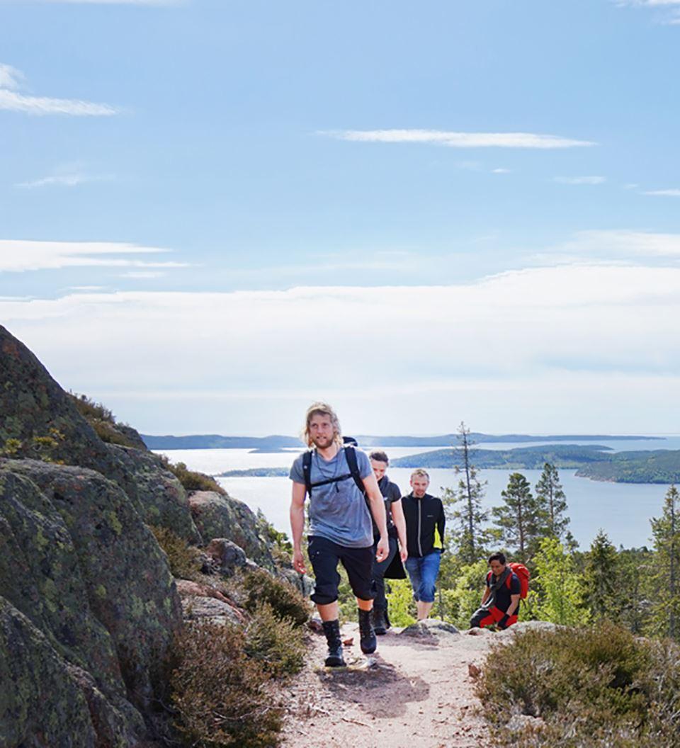 Höga Kustenleden vandringsguide / High Coast Trail hiking guide