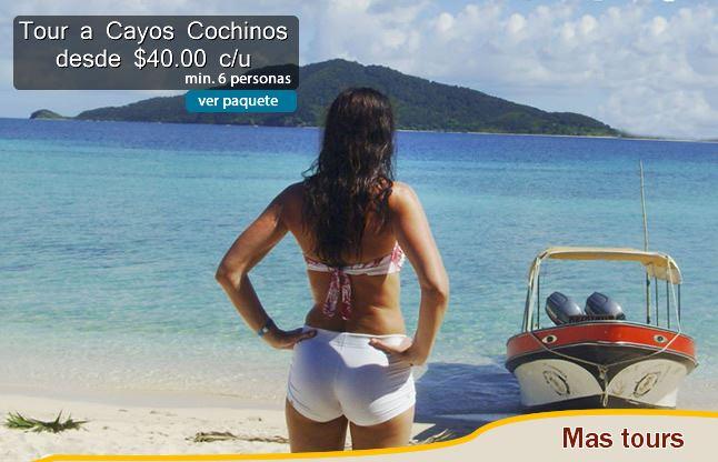 Tour to Cayos Cochinos