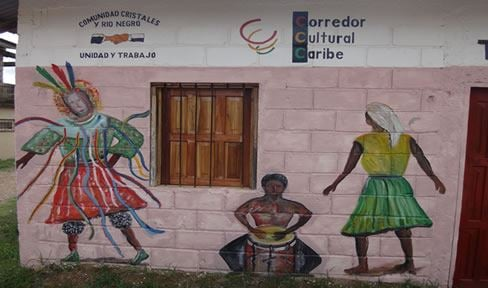 Tour of the Garifuna Neighborhood of the Barrio Cristales