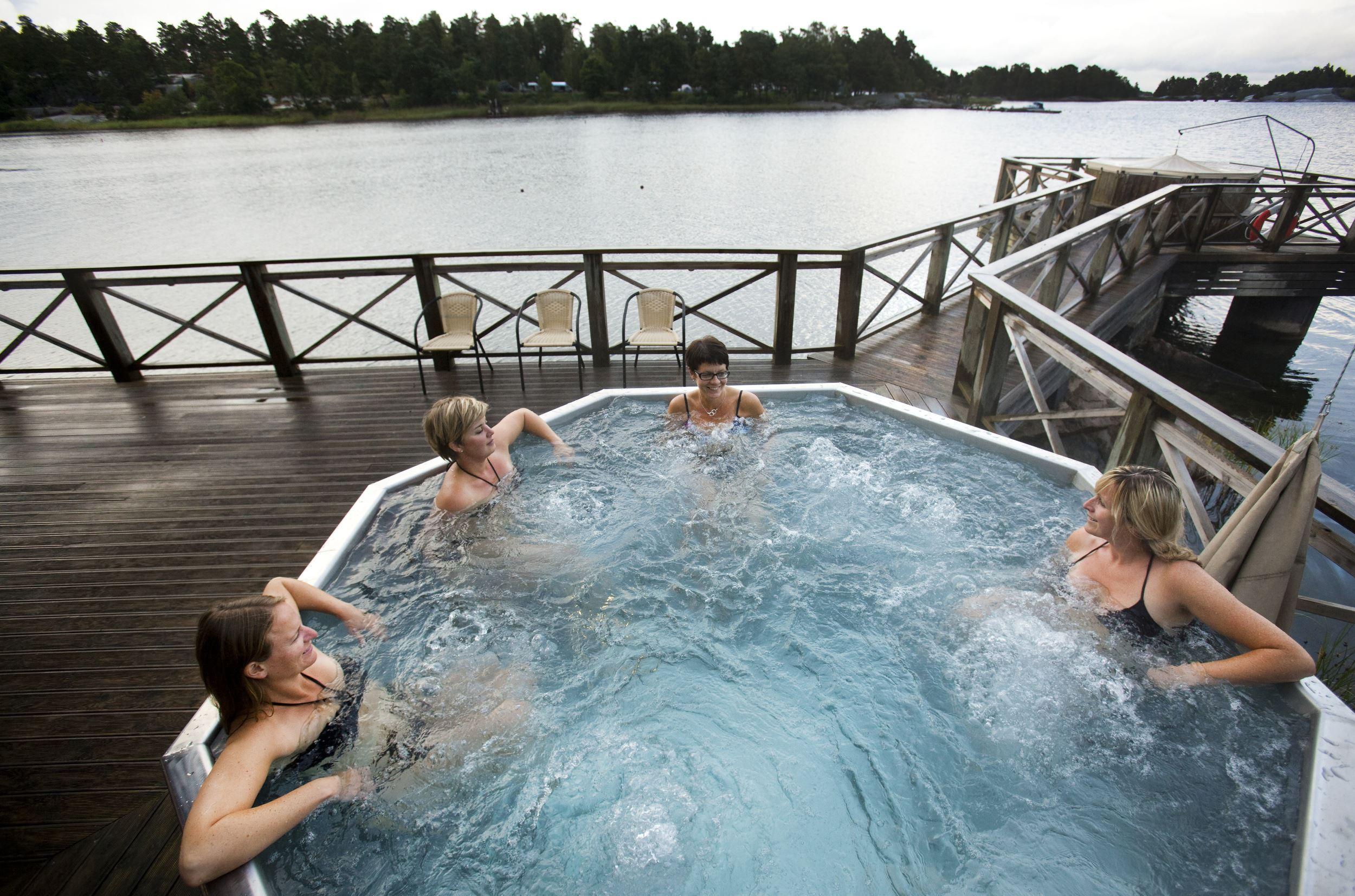 Sauna in Lysingsbadet