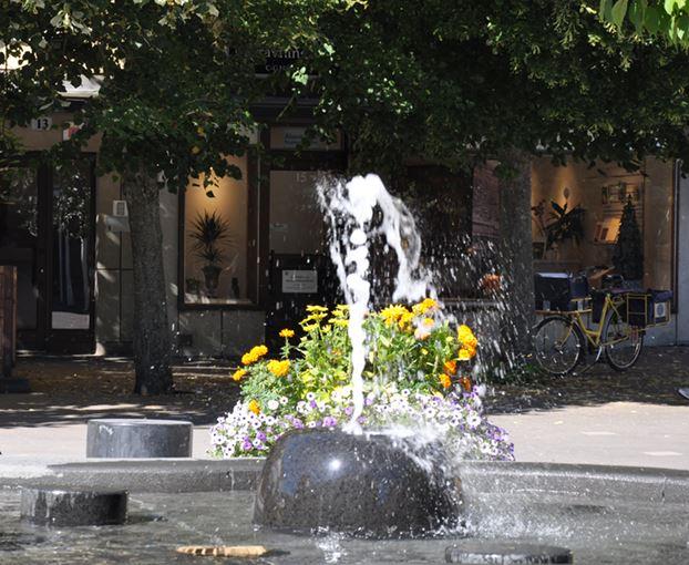 Konstvandring i Åkersberga centrum