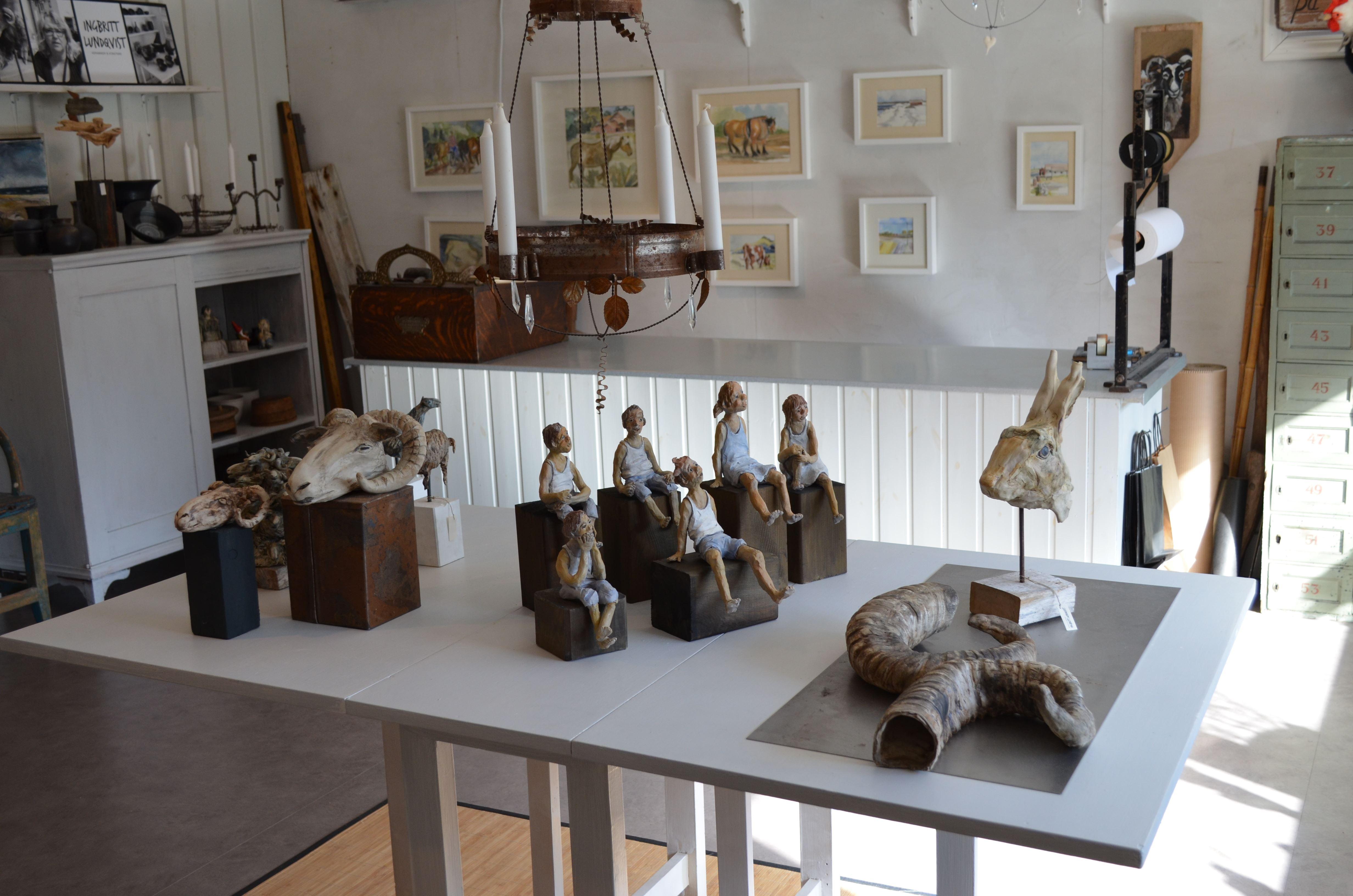 Utställning: Gruppen KLURA visar bild och skulptur