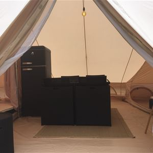 Sandskær Strandcamping Safari luksustelt