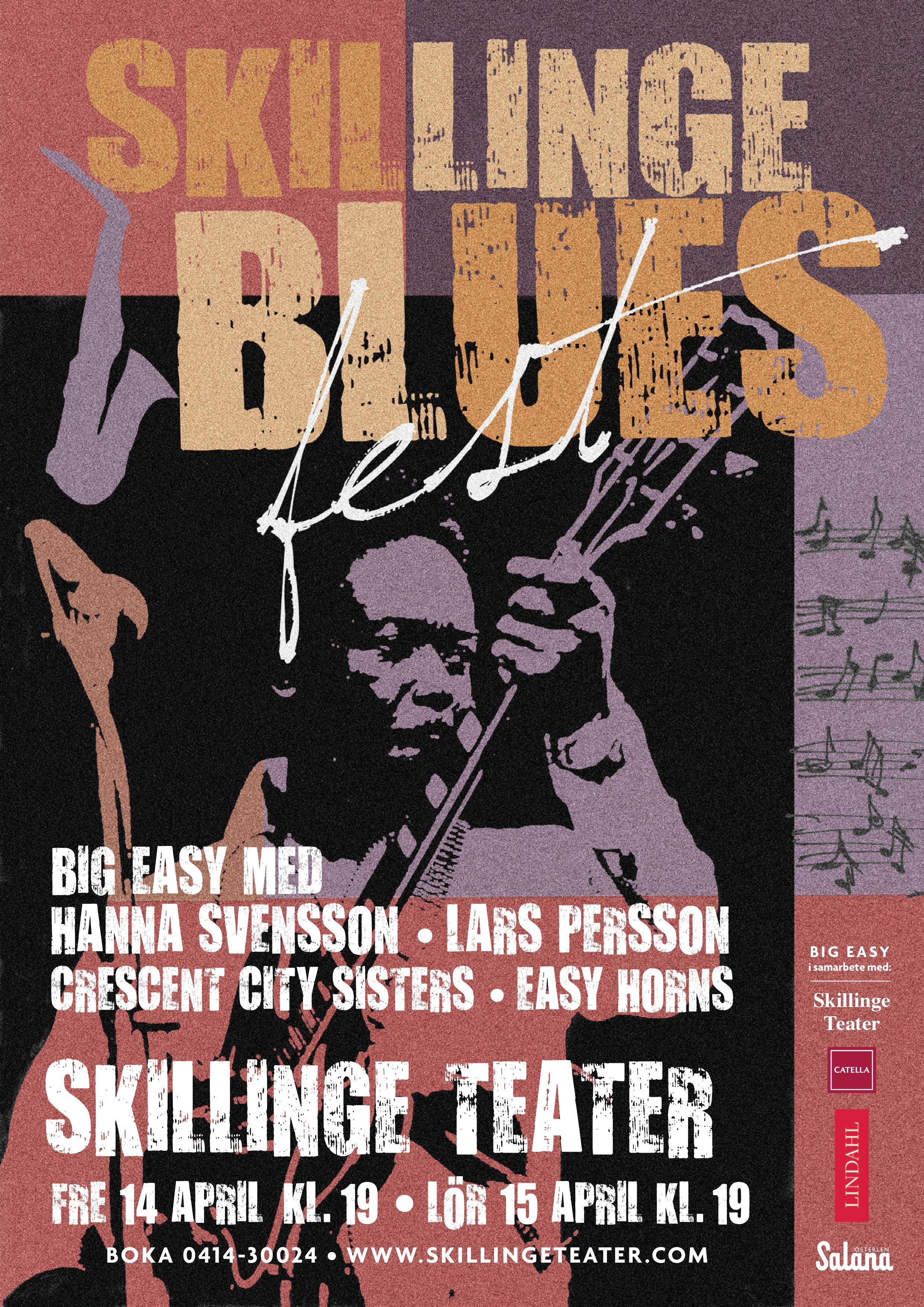Bluesfest på Skillinge Teater