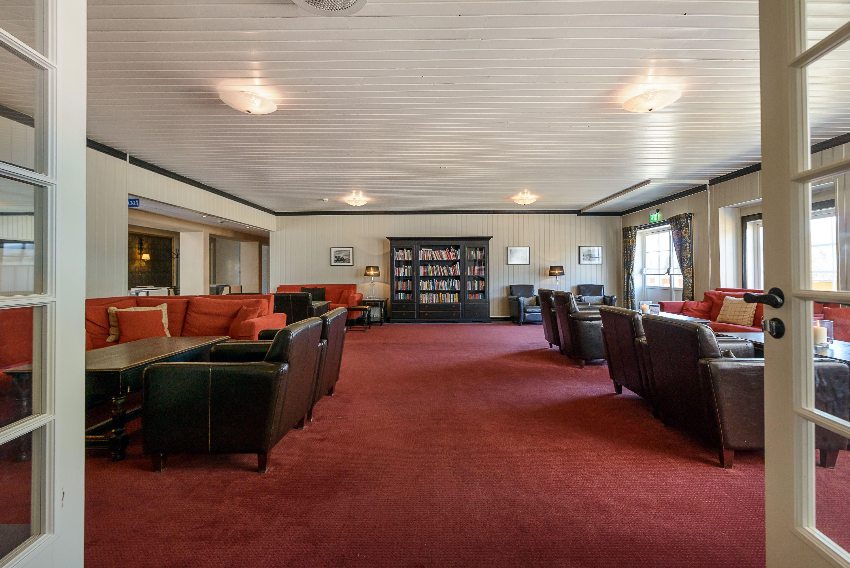 Biblioteket hos Hafjell Hotell