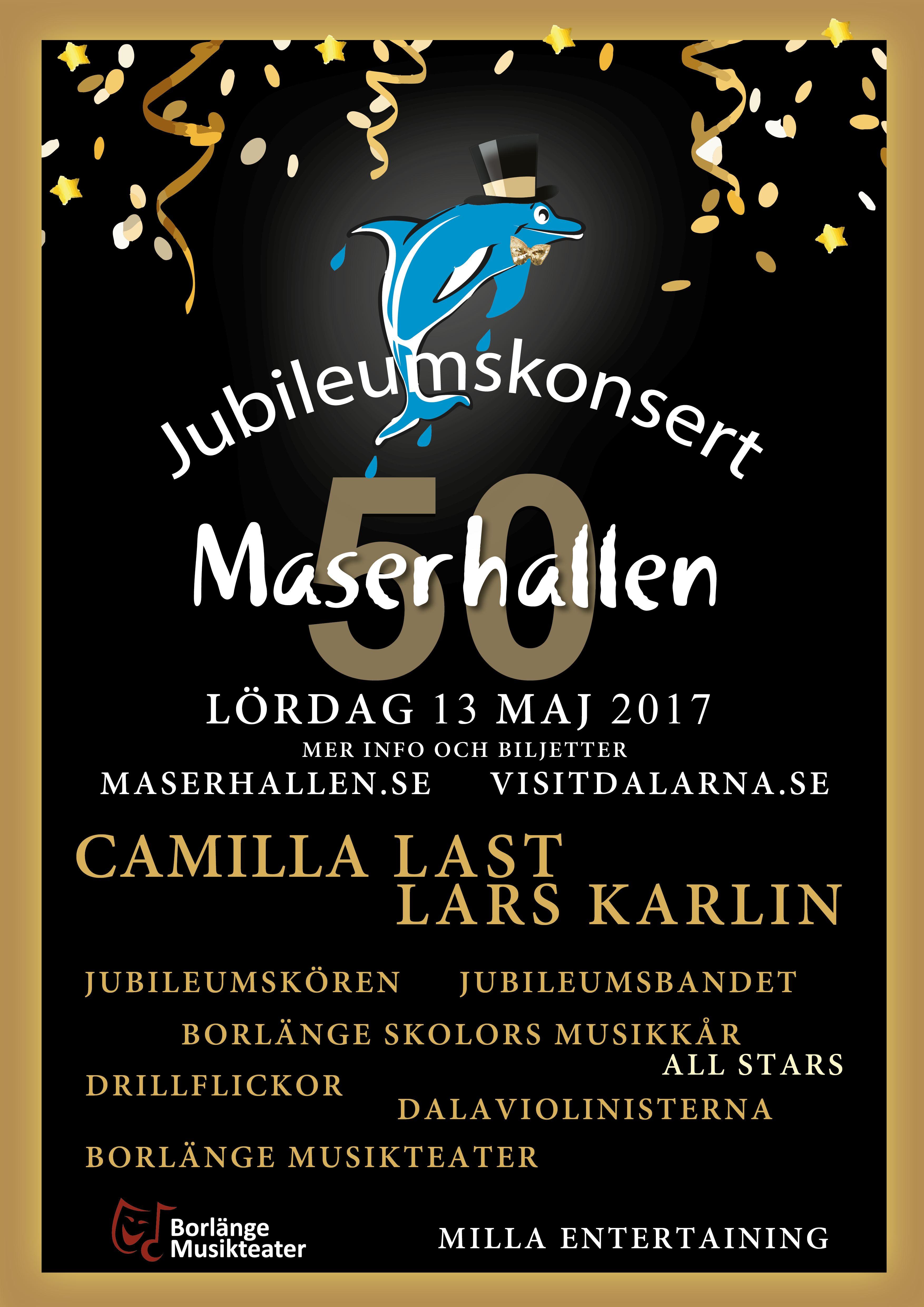 Inställd- Maserhallen 50 år - Jubileumskonsert
