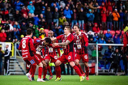 Allsvensk hemmapremiär Östersunds FK - IFK Norrköping
