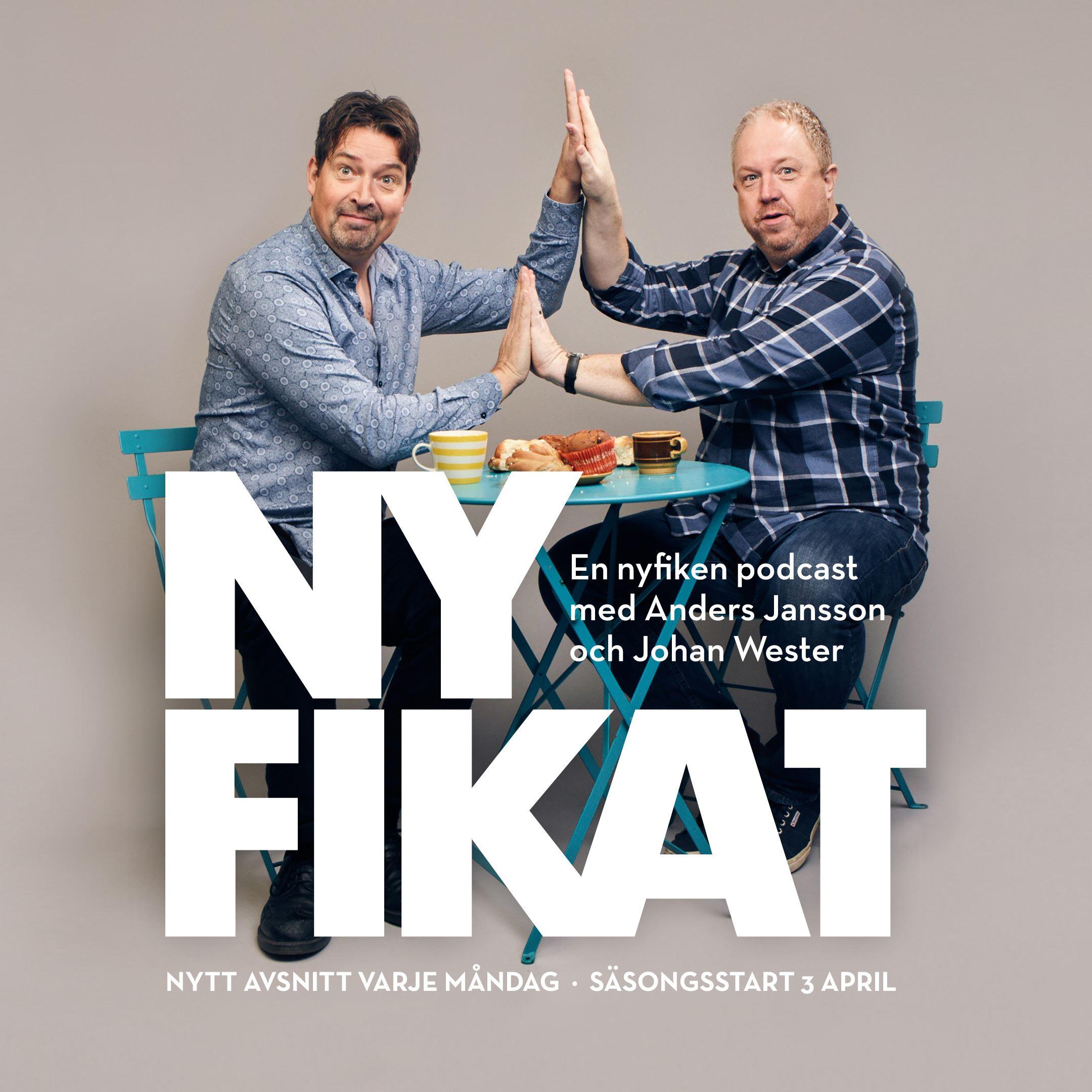Nyfikat live, en podcast med Anders Jansson och Johan Wester