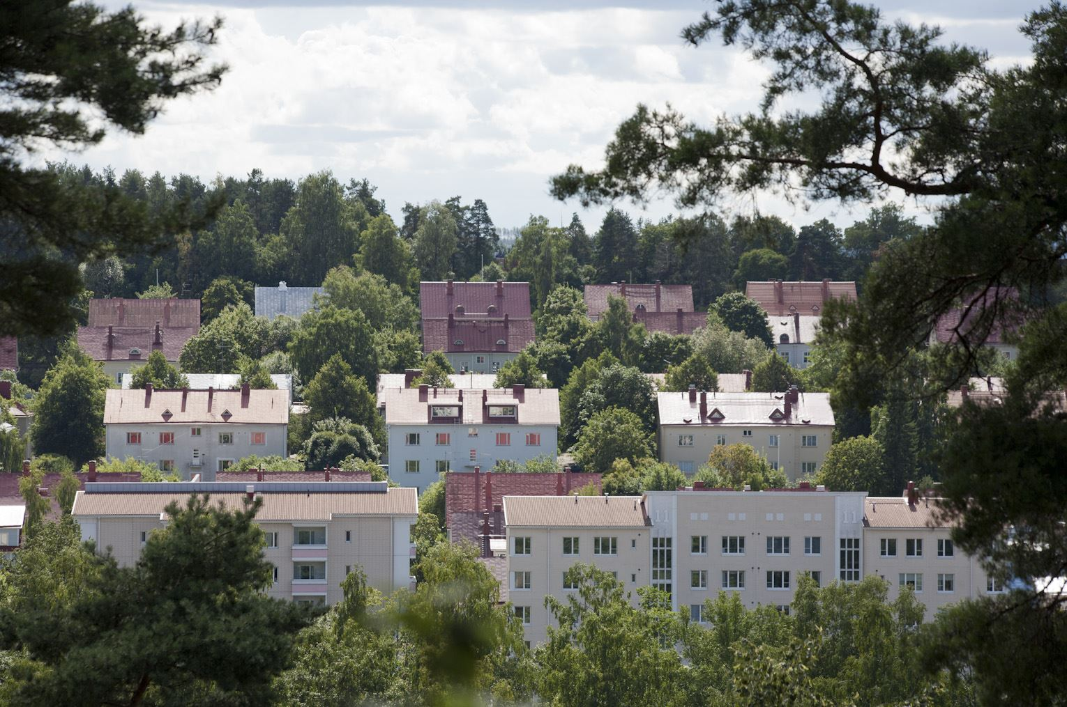 Paavola - the wooden house district at the Lahti city centre | LAHTI CITY MUSEUM