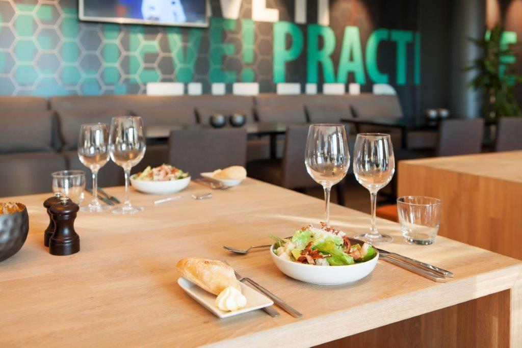 Scandic Lerkendal, Dekket bord på Lerkendal Bistro i Trondheim