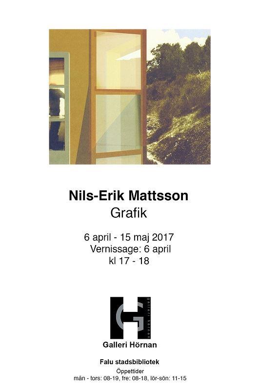 Nils-Erik Mattsson grafik