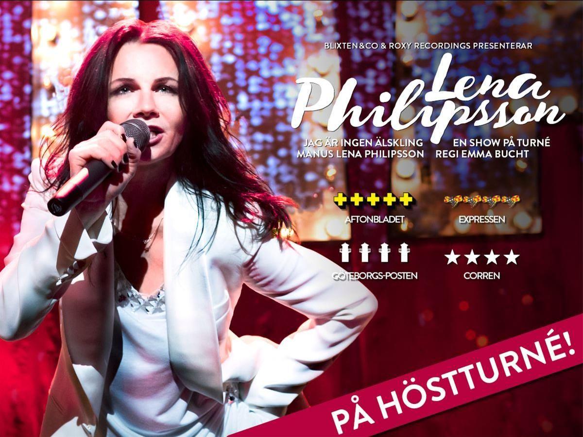 Lena Philipsson - Jag är ingen älskling