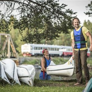 Foto: Håkan Wike,  © Copy:Lits Camping, Lits Camping & Kanot